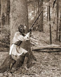 Eastern Woodland Indian Warrior