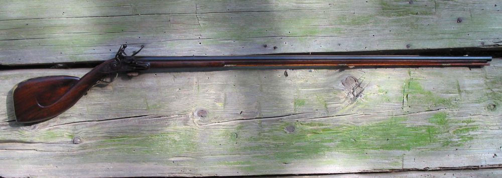 Club Butt Fowler Flintlock Full