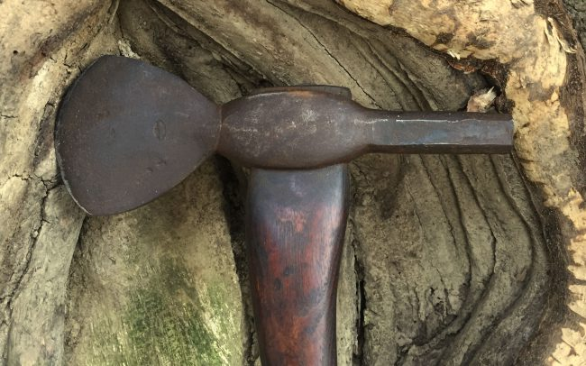 Knob Poll Axe Head
