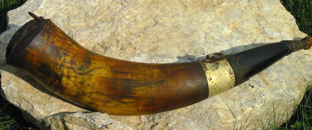 Turtle Indian Powder Horn 1